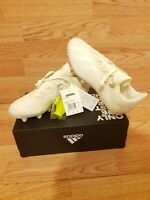 ADIDAS X 18.3 SG Football Boots White Soft Ground UK 6.5 EUR 40 - New with box