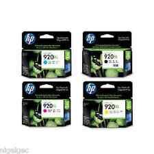 Set 4 HP 920XL HP920XL CD972AE CD973AE CD974AE CD975AE Originale Cartucce di inchiostro