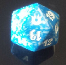 1 BLUE Born of the Gods d20 SPINDOWN Die FatPack , 20 sided Spin Down Dice MtG