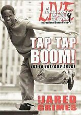 Broadway Dance Center: Tapdance Tap...Tap...BOOM Dance with Jared Grimes (DVD, …