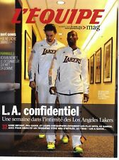 L'EQUIPE MAGAZINE N°1500 16/04/2011 LOS ANGELES LAKERS/ GOMIS/ NEWEY/ ASSOUMANI