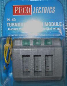 Peco Turnout Switch Module PL-50