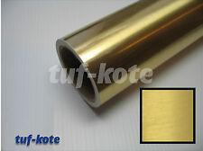 Golden Chrome Brushed Finish Vinyl Sticker Sheet Decal Styling 4 Sqft 24x24Inchs