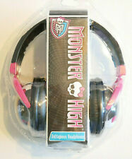Monster High Voltageous Head Phones   Black / Pinkish