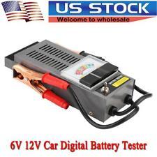 6/12V Car Digital Battery Tester Load Volt Charging System Tester Analyzer Tool
