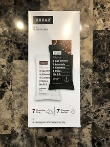RXBAR Chocolate Sea Salt And Chocolate Chip 14 Pack (Past Best By Date)