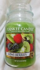 Yankee Candle KIWI BERRIES Large Jar 22 Oz New Housewarmer Green Fruit Sweet