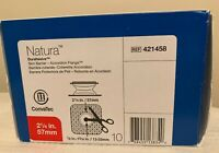 "CONVATEC 421458 Natura Durahesive Skin Flange Cut-To-Fit 2-1/4"" 1BX/10EA"