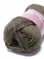 50g MERINO COTTON HJERTE Extra Soft Extrafine Superwash Wolle Baumwolle Baby 211