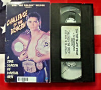 "Challenge of the Dragon (VHS, 1994) Don ""The Dragon"" Wilson Martial Arts Rare"
