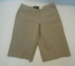 Victoria's Secret Body by Victoria Womens 2 Beige Khaki Shorts The Christie Fit