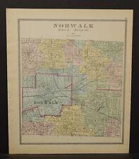Ohio Huron County Norwalk Township 1891  !Y14#87