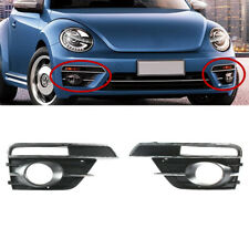Fit For 2017-2019 VW Beetle Front Bumper Lower Fog Light Grill Grille LEFT+RIGHT