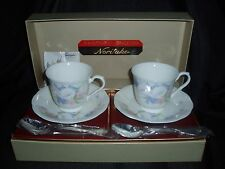 Noritake Bone China Floral Pattern Cup and Saucer Gift Box Set 9903