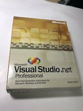 Microsoft Visual Studio.net Professional - Version 2002