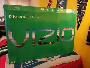 """VIZIO D-Series 43"""" Class Full-Array LED TV - Black (D43N-E1)"""