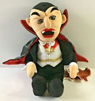 "Universal Studios Monsters 1999 Plush Dracula 9"" Halloween Decoration Gift Toy"