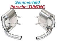 Porsche Carrera 996 Sportauspuff Auspuff (110 +db) Sport Exhaust Muffler loud