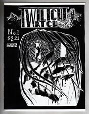 TWILIGHT WATCH #1 Theryago Studios 1998 B/W magazine / comic