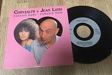 45 tours Chryzalys Jean Luisi Paradis rose paradis noir EXC+