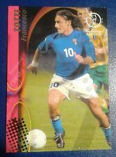 Francesco Totti - Italy - 2002 World Cup Panini base card #73