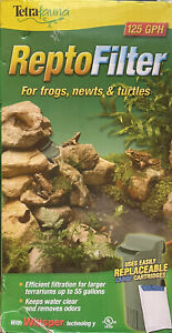 TetraFauna ReptoFilter for Frogs Newts and Turtles, Replaceable, 50 Gal.125GPH
