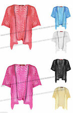Unbranded Women's Short Sleeve Waist Length Jumpers & Cardigans