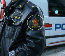 FANCY DRESS COSTUME PROP: Norwegian Police Politi-og lensmannsetaten 2-PC Set