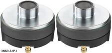 2 pezzi img STAGELINE MONACOR driver corno mrd-34pa 70 Watt 35mm-filettatura 104db/w