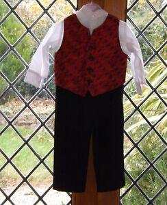 Little Jacques, Boys 3 piece formal outfit, age 2T