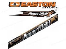 "Easton Powerflight 300 spine with 2"" fletchings"