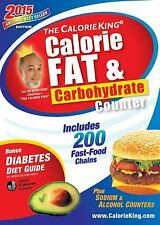 The CalorieKing Calorie, Fat & Carbohydrate Counter 2015: Pocket-Size Edition