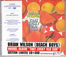 CD DIGIPACK + DVD BRIAN WILSON (BEACH BOYS) THAT LUCKY OLD SUN EDIT. LIMITÉE