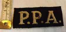 Military Rare P.P.A Popski's Private Army Special Forces Badge LRDG No.1 (3087)