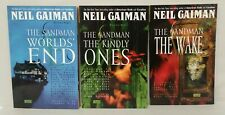 Sandman (1994) TPB Lot Vol 8 9 10 DC Vertigo Matching Printings Neil Gaiman SC