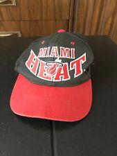 Vintage Hat Cap SnapBack Miami Heat Red The G Cap