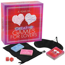 A Year Of Creative Games For Lovers | Sexy Adult Board Game with 52 Games