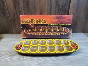 Mandinka African strategy game 1978 Excellent Condition 30 of 48 Stones