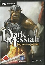 Dark Messiah of Might and Magic (dt.) (PC, 2006, DVD-Box) Avec steam key code