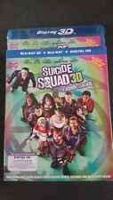 Suicide Squad (Blu-ray/DVD, 3-Disc Set, Canadian 3D)