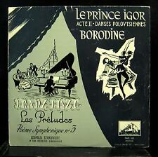 LEOPOLD STOKOWSKI borodin prince igor LP VG+ FALP 105 France Mono HMV