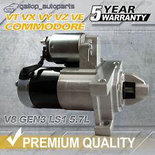 Starter Motor fit Holden Commodore VT VX VY VZ VE V8 Gen3 LS1 5.7L Petrol 99-06