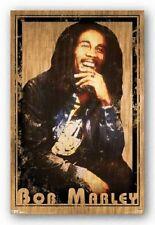 Bob Marley retro Laughing 22x34 Poster Art Print 5276T