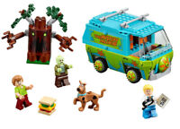 305Pcs Scooby Doo Series Mystery Machine Bus Building Block Building Toys 10430