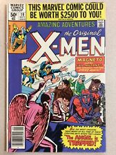 Amazing Adventures, The Original X-Men #10 (Marvel Comics) Sept. 1980