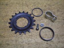 NOS Sturmey Archer 3 Speed Bicycle Hub Cog Sprocket & Snap Ring + Parts