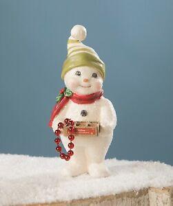 Bethany Lowe Christmas Deck The Halls Snowman TD9079 New