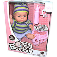 Baby Born Interactive Dolls with Accessories & Lifelike Functions Bonni Play Set