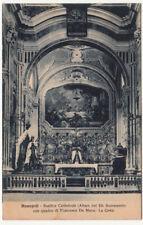 NP1557 - MONOPOLI BARI - BASILICA CATTEDRALE ALTARE VIAGGIATA 1930