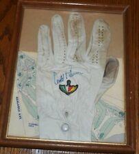 Vintage Arnold Palmer Autographed Signed Glove